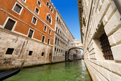 Bridge of Sighs - Venice Italy Stock Image