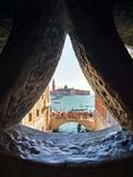 The Bridge of Sighs, Venice. royalty free stock photography