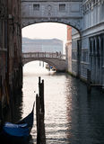 Bridge of Sighs in Venice Royalty Free Stock Images