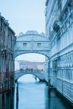 The Bridge of Sighs, Venice Stock Image