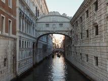 Bridge of Sighs in Venice Royalty Free Stock Photos