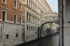 Bridge of Sighs in Venice, Veneto, Italy, Europe Stock Photos