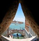 Bridge of Sighs Venise stock image
