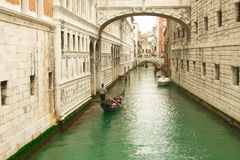Bridge of Sights in Venice Stock Image