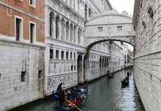 Bridge of Sights, Venice Stock Images