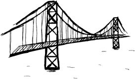 Bridge royalty free illustration