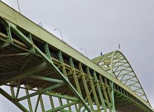 Bridge and Sky Stock Photography