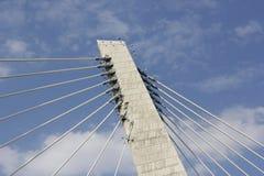 The bridge and the sky stock photo