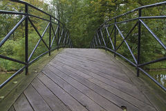 Bridge. Small bridge in the Park of Pszczyna, Poland stock images