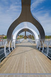 Bridge in Solvesborg Stock Images