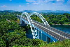 Bridge. Somewhere in Japan with a river and bridge Royalty Free Stock Photos