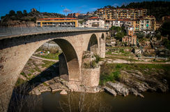 Bridge in Spain Stock Images