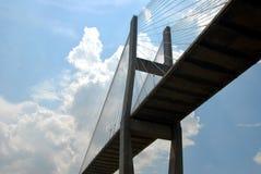 Bridge Span. Photographed bridge span in Savannah Georgia stock photography