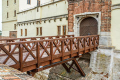 Bridge of Spilberk Castle in Brno Stock Photography