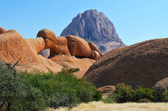 The Bridge, Spitzkoppe, Namibia Stock Photos