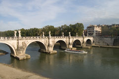 Bridge of St. Angelo Royalty Free Stock Photography