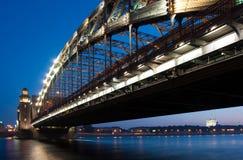 Bridge. St-Petersburg Royalty Free Stock Photography