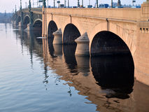 Bridge in St..Petersburg Royalty Free Stock Photo