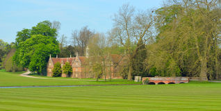 Bridge and Stables Audley End House Essex England. Stock Photography