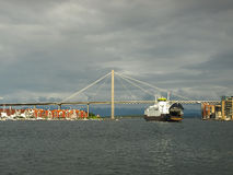 Bridge in Stavanger Stock Image