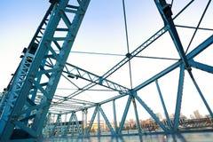 bridge steal Arkivbild