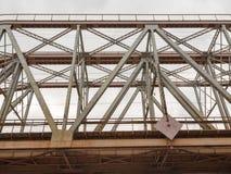 Bridge of steel and concrete Stock Photo