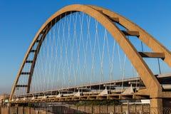 Bridge Steel Pipes Stock Images