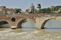 bridge stenen Royaltyfri Foto