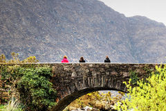 bridge stenen Royaltyfri Bild