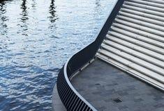 Bridge with steps in Hamburg Stock Photos