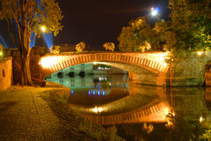 Bridge in Strasbourg, France Royalty Free Stock Photography