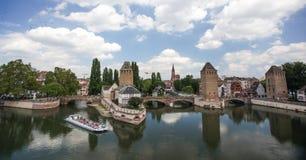 Bridge in Strasbourg Royalty Free Stock Image