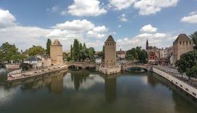 Bridge in Strasbourg Royalty Free Stock Photos