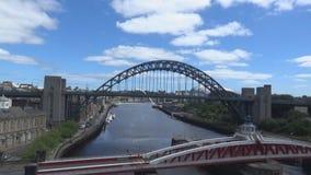 Bridge and street stock footage