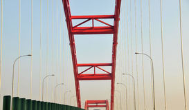 Bridge structure Royalty Free Stock Images