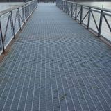 Bridge. A structure built to span physical obstacles such as a body of water,or land royalty free stock image
