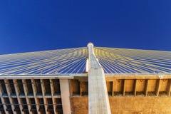 A bridge structure Cable Stock Photo