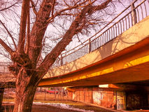 Bridge structure view Royalty Free Stock Image