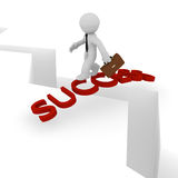 Bridge of success Royalty Free Stock Photo