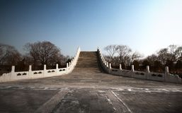 Bridge in the Summer Palace. (near the south gate Royalty Free Stock Images