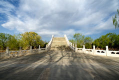 Bridge in the Summer Palace. The Bridge in the Summer Palace Stock Photos
