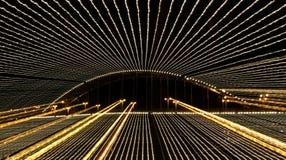 Bridge with long exposure Royalty Free Stock Photos