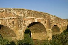 Bridge in sunshine Stock Photography