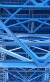 Bridge support beams Stock Image