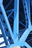 Bridge support beams Royalty Free Stock Photo