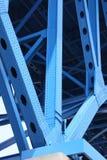 Bridge support beams Royalty Free Stock Photo