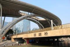 Bridge in suzhou industry zone Stock Photography
