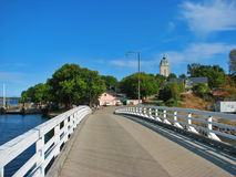 Bridge on Sveaborg island in Helsinki, Finland Royalty Free Stock Photos