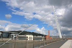 Bridge, Swansea Harbour Royalty Free Stock Photo