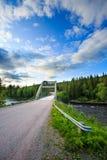 Bridge in Sweden Royalty Free Stock Image
